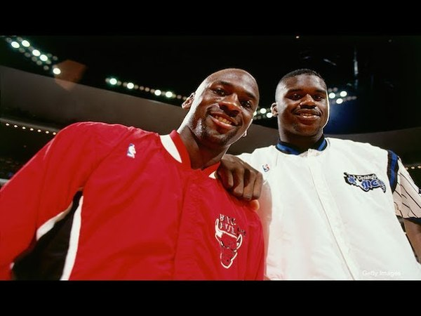 Chicago Bulls vs Orlando Magic 1993-01-16 Jordan 64 Pts Shaq 29 Pts, 24 Reb, HD