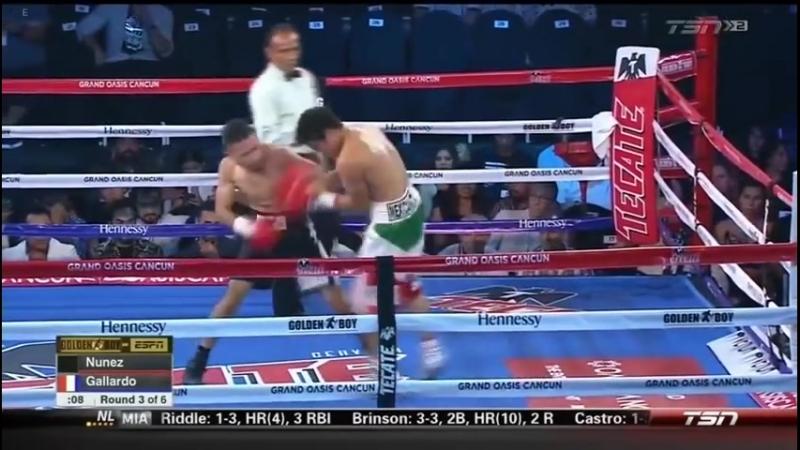 Эдуардо Нуньес vs Хирам Галлардо (Eduardo Nunez vs Hiram Gallardo) 29.06.2018