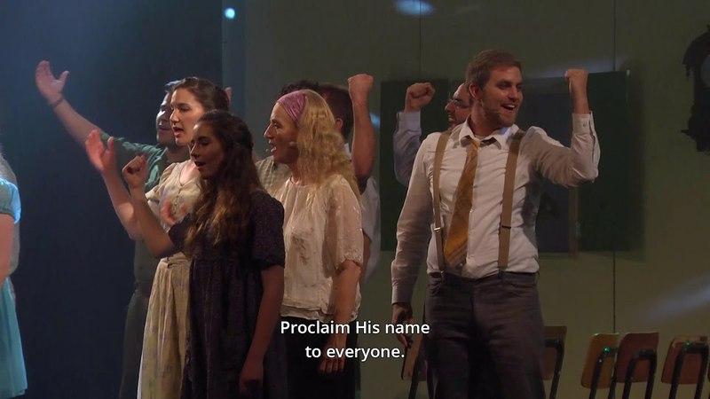 The Secret (HaSod) - Messianic Musical - The Savior's flag