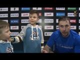 Никита Щитов вместе с сыновьями рассказывает об игре с