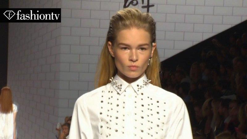 Anna Ewers Model Talk at Spring Summer 2014 Fashion Week FashionTV