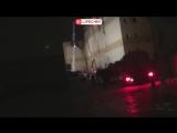 Прямая трансляция с места пожара в ТЦ в Кемерово