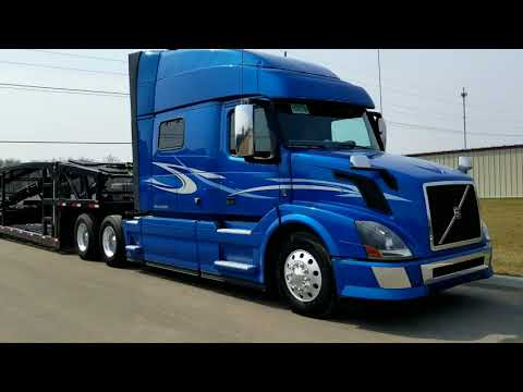 Our 2nd 2015 Volvo VNL 730 , Now We Have twin trucks..