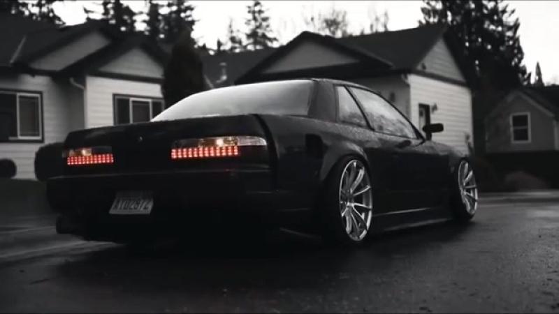 Nissan Silvia S13 flashing lights