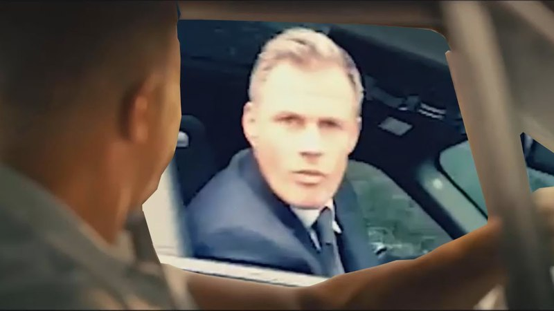 Jamie Carragher Spit - Fast and Furious