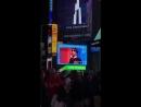 Видео 180709 Видео с GOT7 на одном из LED экранов на Таймс Сквер в Нью Йорке