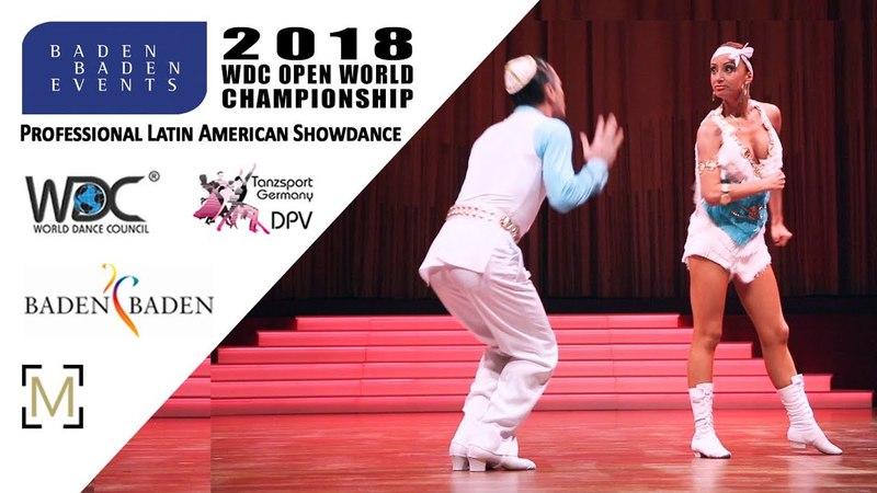 Sokhrannyy - Kositsyna, ISR   2018 WDC Pro WCH SD LAT - Baden Baden, GER - R1