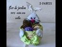 2° PARTE- Como fazer uma Cesta da Páscoa com coelho -Easter Bunny feltre