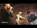 пре-дебют Выступление 3RACHA с песней Runners High