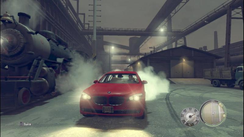 Drift on BMW 750il in MAFIA 2