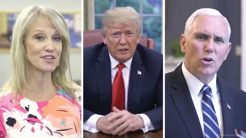 Trump on laurel-yanny debate I hear covfefe