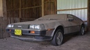 DeLorean Barn Find that hasn't seen light in over 32 years