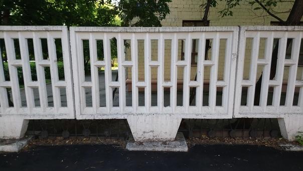 Красивый забор.  11 июля 2018