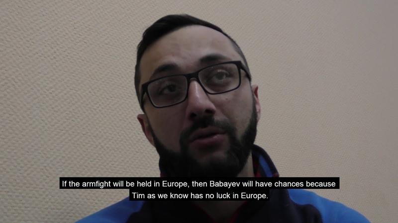 Armfight 50 K Zoloev about Bresnan vs Babayev