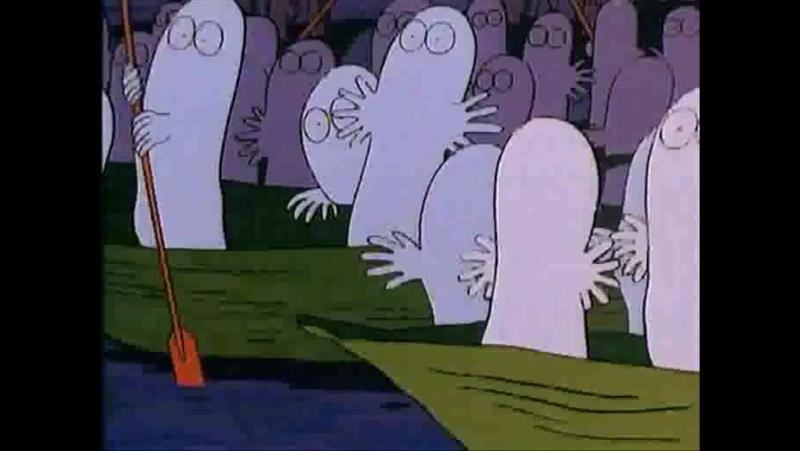 Los Moomins - 05 -El Secreto de los Espectros