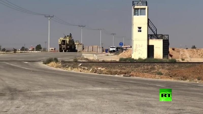 Установление контроля сирийского правительства на погранпереходом Насиб (6 июля 2018)