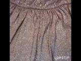 Платье с люрексом для мамы и дочки
