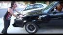 PSYCHO EX GIRLFRIEND STEALS CAR
