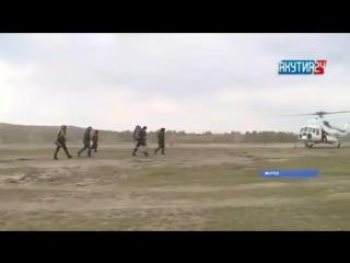 Начались перевозки пассажиров на вертолете Ми-8 по маршруту Маган — Нижний Бестях