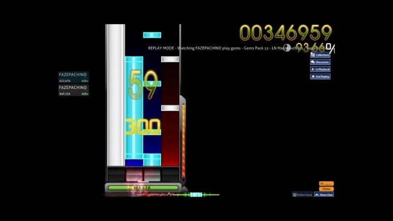 Gems Pack 12 - LN Master 4th [15 - Kagamine Rin, Oni Kanojo [no SV]] B pass 89.73%