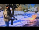 Уборка снега огнемётом по-американски