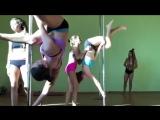 Анастасия Сидорова в Pole Dance Лагере ПИЛОНиЯ 18