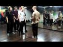 Электр-ночь в студии LBE 18-11-17 часть 4. Дружеский батл вторая половина Дима vs Ярослав