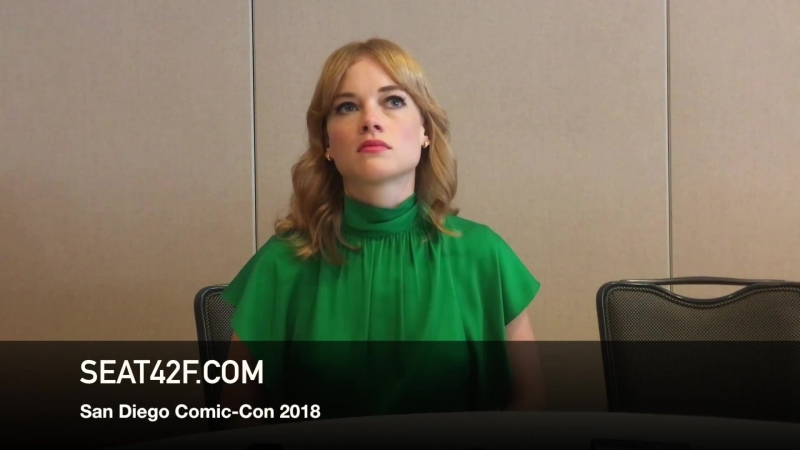 Comic Con 2018 Интервью в пресс рум о сериале Касл Рок 2 20 07 18