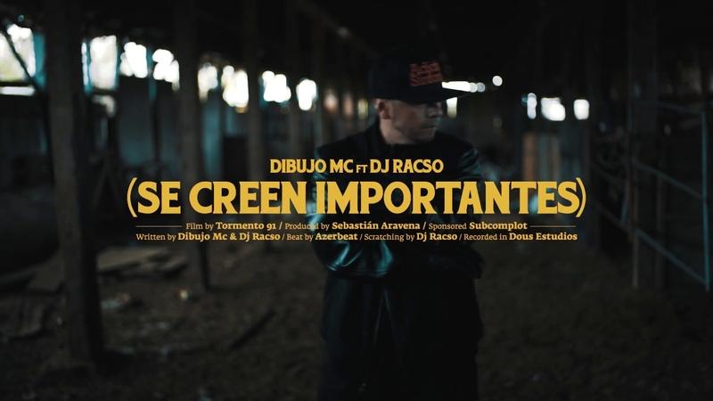 Dibujo Mc ft Dj Racso - Se creen importantes (vídeo oficial)
