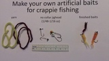 How to make a great artificial bait for crappie fishing