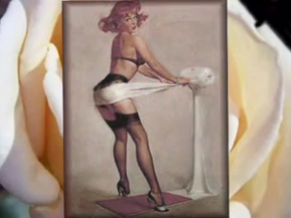 The vintage pin up video part 3