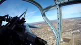 IL-2 flight - rear view from the gunner`s cabine