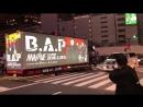 感激感激〜 - 走行初日にB.A.Pのマシッブ号を見ることができたよ〜