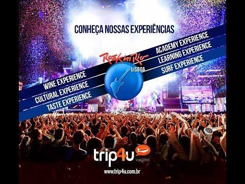 Rock in Rio Lisboa 2018 - vídeo promocional Trip4u