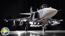 JAS 39 Gripen Beautiful And Powerful Fighter Following The Success Of Draken And Viggen