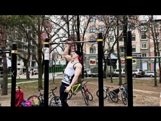 STRONG Russian GUY Workout - Calisthenics Aesthetic (Kowtyn Igor)