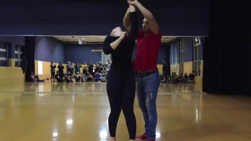 Невероятной красоты танцевальная пара! Артур и Лаисса! Кизомба