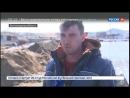 Россия 24 - В Поволжье спасатели и местные жители возвели дамбу из 8 тысяч мешков с песком - Россия 24