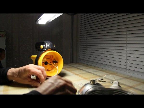 Замена галогеновой лампы на светодиод