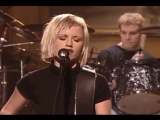Выступление The Cranberries с песней Zombie на шоу SNL