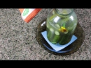 Консервация Огурцов с Водкой на Зиму Огурцы как Бочковые Pickled Cucumbers with Vodka