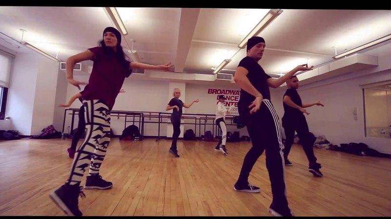 Derek Mitchell and Joanna Numatas Collaboration Classes at Broadway Dance Center NYC