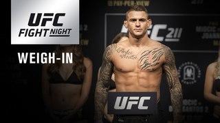 Прямая трансляция церемонии взвешивания участников турнира UFC Fight Night Glendale
