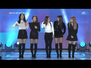 171104 Red Velvet - Red Flavor, Talk, Rookie @ Pyeongchang Olympics Music Festival