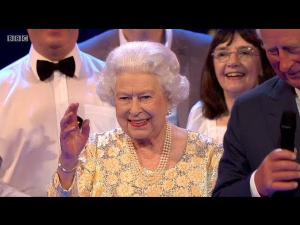 Her Majesty The Queen's Birthday Party. Full Coverage. Royal Albert Hall. 21 Apr 2018