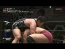 Koji Doi, Kumagoro (c) vs. AKIRA, Manabu Soya (Wrestle-1 - Tour 2018 Cherry Blossom)