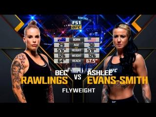 UFC 223 Rawlings vs Evans-Smith