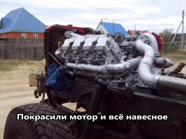 САМЫЙ Крутой тюнинг Краза по-Якутски!!