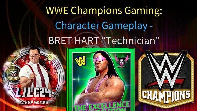 WWE Champions - 🎥 Bret Hart