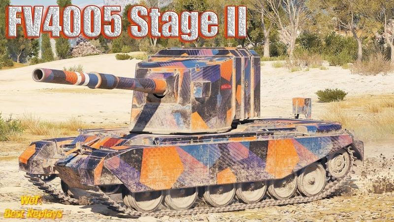FV4005 Stage II Фугасы залетали Как Надо * Степи